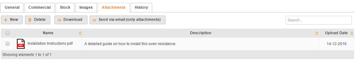 catalog product attachment