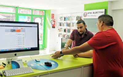 Digitalización e inteligencia artificial para tiendas de informática