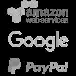 STEL Order funciona con la última tecnología de Amazon Web Services, Google y Paypal