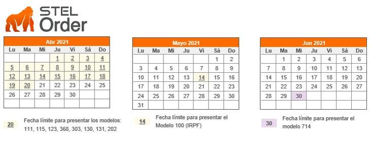 segundo trimestre del calendario fiscal 2021