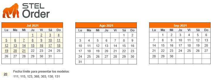 tercer trimestre del calendario fiscal 2021