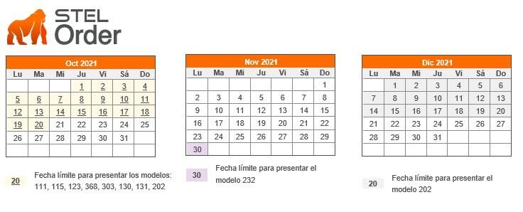 cuartro trimestre del calendario fiscal 2021