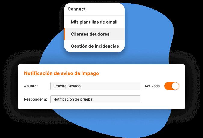 email para clientes deudores