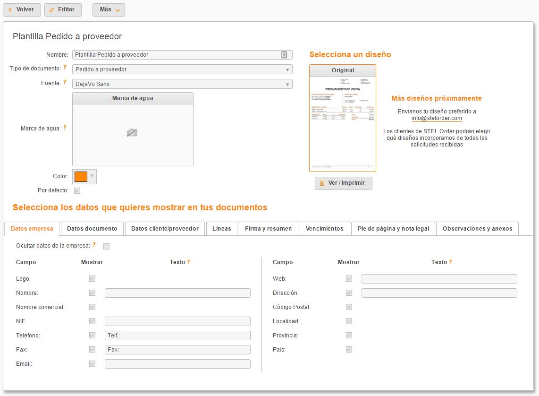 Cómo personalizar facturas