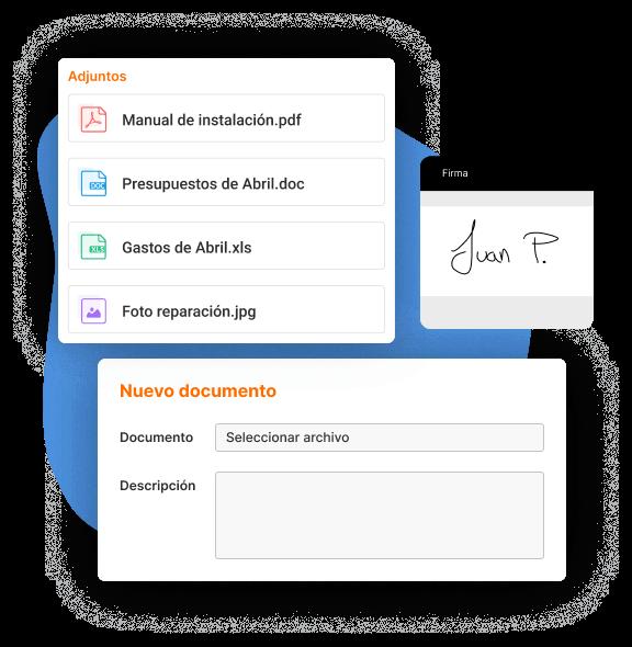 mejora la documentacion en tus partes de trabajo