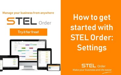 How to get started with STEL Order: Settings